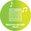 music production & recording to suit clients themes icon